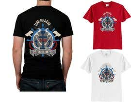 #9 para Design a T-Shirt for  Fire fighters por VikiFil