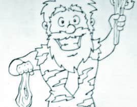 german84 tarafından Draw a Caveman (who is a businessman) için no 15