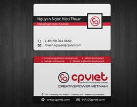 #121 para Design some Business Cards for CPVIET por ivegotlost