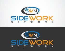 nº 12 pour Design a Logo for the Sidework Network par LOGOMARKET35
