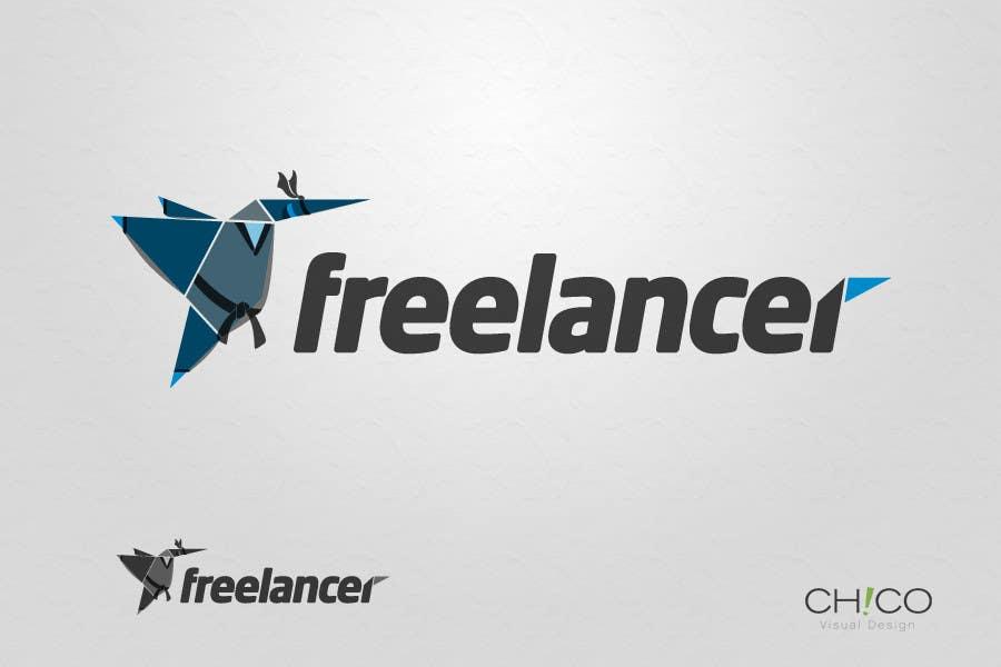Contest Entry #55 for Turn the Freelancer.com origami bird into a ninja !