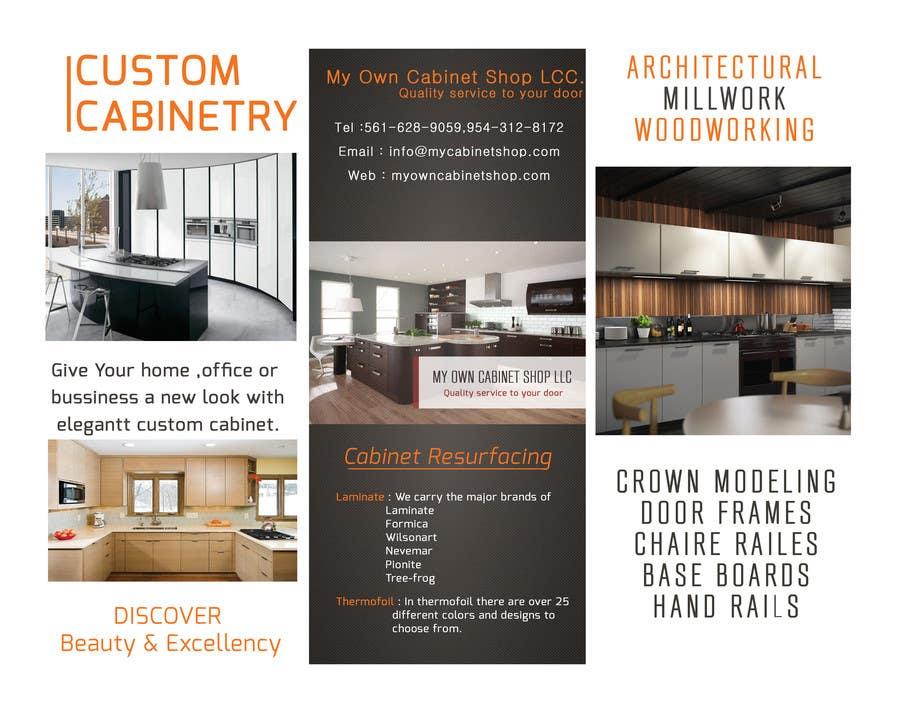 Konkurrenceindlæg #                                        1                                      for                                         Trifold Brochure Design