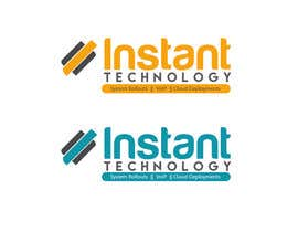 #27 para Design a Logo for Instant Technology por maxrafat