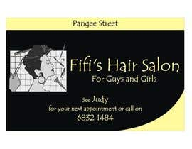 #26 untuk Design some Business Cards for hair dressing salon oleh Shrey0017