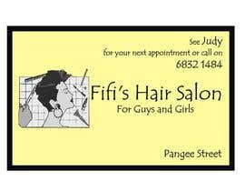 #27 untuk Design some Business Cards for hair dressing salon oleh Shrey0017