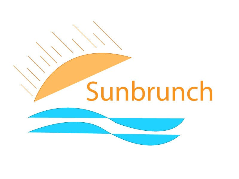 #33 for Logo design for Sunbrunch by spandey90