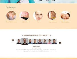#22 untuk Design a Website Mockup for aesthetic surgery oleh Skitters