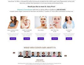 Skitters tarafından Design a Website Mockup for aesthetic surgery için no 26