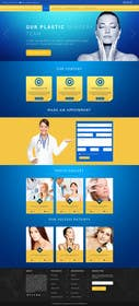 logodesire tarafından Design a Website Mockup for aesthetic surgery için no 13