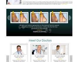 #25 untuk Design a Website Mockup for aesthetic surgery oleh suranjan89