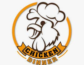#10 para Embroidered Logo/Badge for Cap - Chicken Dinner por senawork
