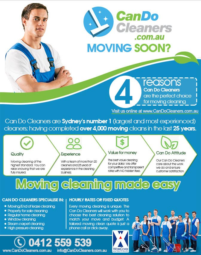 Konkurrenceindlæg #                                        20                                      for                                         Design a flyer for a house cleaning company