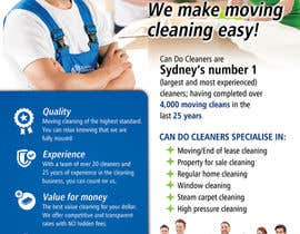 #33 for Design a flyer for a house cleaning company af ssergioacl