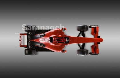 #20 untuk Need TOP view image of Formula 1 Racing Car oleh Saranageh90