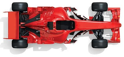 #32 untuk Need TOP view image of Formula 1 Racing Car oleh Saranageh90