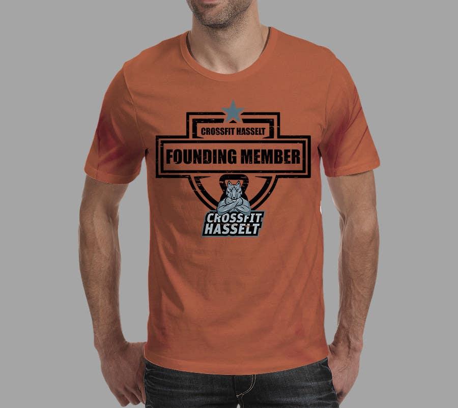 Kilpailutyö #5 kilpailussa Ontwerp een T-shirt for Crossfit Hasselt