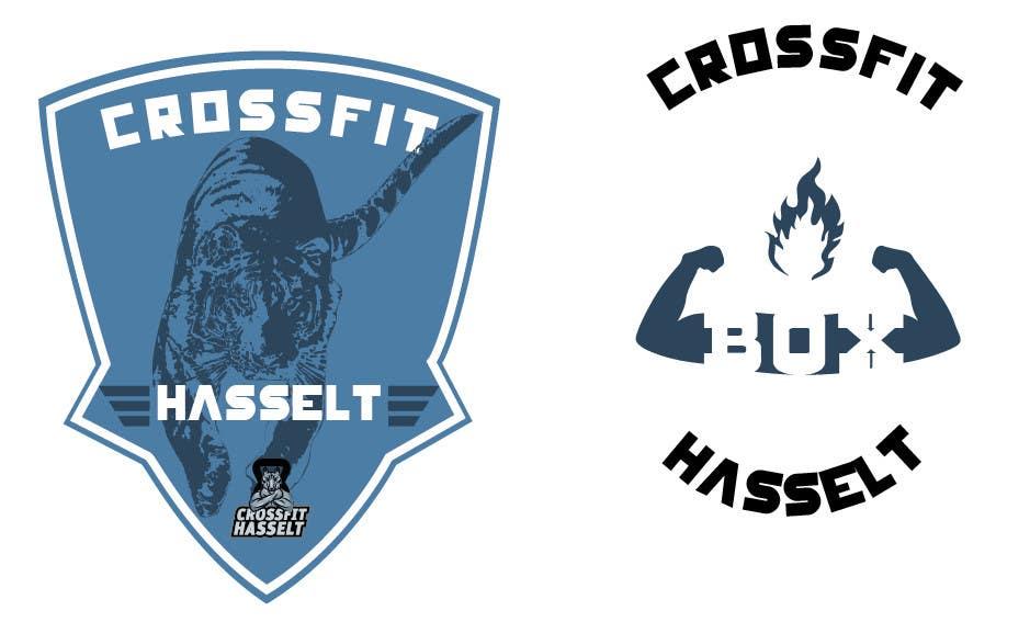 Kilpailutyö #116 kilpailussa Ontwerp een T-shirt for Crossfit Hasselt