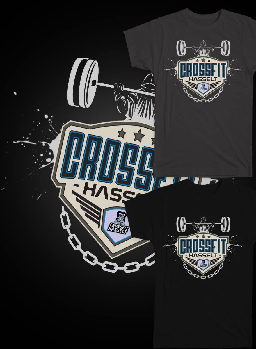 Kilpailutyö #30 kilpailussa Ontwerp een T-shirt for Crossfit Hasselt