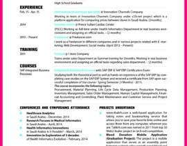 Nro 18 kilpailuun design Infographic CV käyttäjältä ahsankazmi424