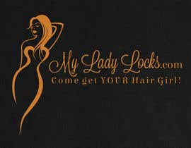 #30 cho MyLadyLocks Logo bởi anatomicana