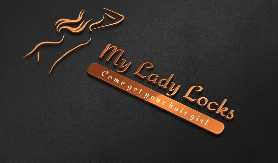 Contest Entry #                                        5                                      for                                         MyLadyLocks Logo
