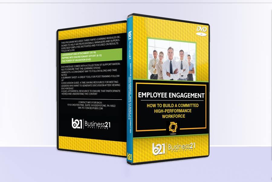 Kilpailutyö #2 kilpailussa New Package Design for Training DVDs