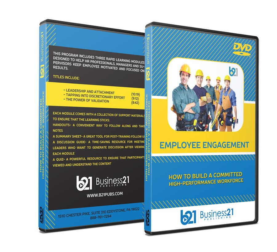 Contest Entry #                                        3                                      for                                         New Package Design for Training DVDs