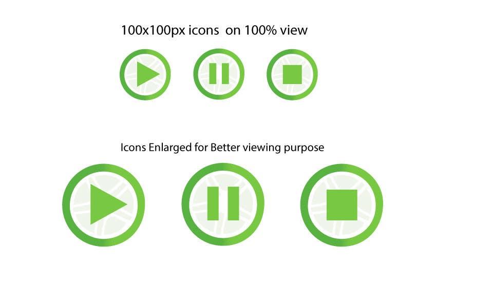 Inscrição nº                                         25                                      do Concurso para                                         Design Logo and 16 Icons for Android app.