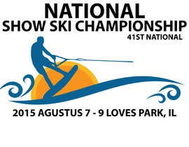 #8 for Design a Logo for National Show Ski Championships af rifkiwsmyo