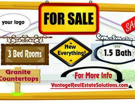#2 cho Design a For Sale sign bởi AhmedMohyCivil