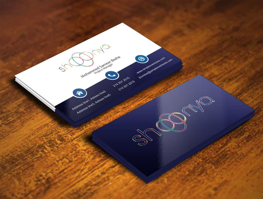 Contest Entry #                                        18                                      for                                         Design some Business Cards for a creative/technology startup