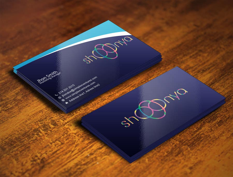 Contest Entry #                                        26                                      for                                         Design some Business Cards for a creative/technology startup