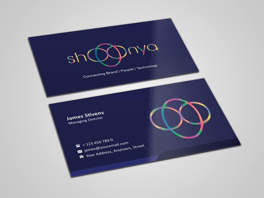 Contest Entry #                                        11                                      for                                         Design some Business Cards for a creative/technology startup