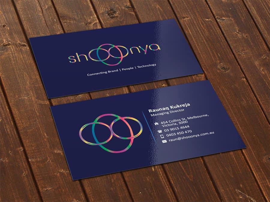 Konkurrenceindlæg #                                        15                                      for                                         Design some Business Cards for a creative/technology startup