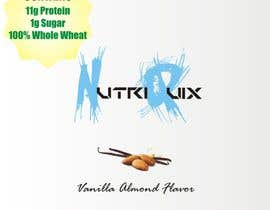 "#4 cho Design a Logo and Label for ""NutriQuix"" bởi alkhatthath"