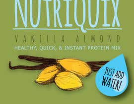 "#60 for Design a Logo and Label for ""NutriQuix"" af kylebish"