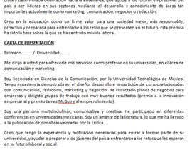 #2 cho Redactar 4 párrafos para vender perfil profesional bởi raquelcanovas