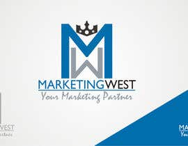 nº 8 pour Design a Logo for MarketingWest par ZzDesignPRO