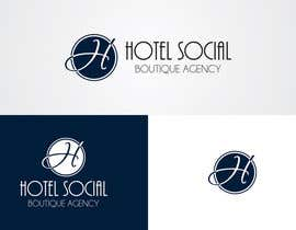 #5 para Design a Logo for Hotel Social Media Agency por inventivegraphic