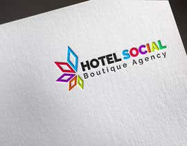#1 para Design a Logo for Hotel Social Media Agency por Khalilmz
