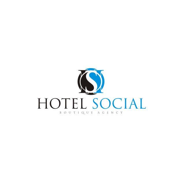 Inscrição nº 46 do Concurso para Design a Logo for Hotel Social Media Agency