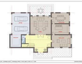 #11 for Design a floor plan for a house i am planning to build. af Marietka