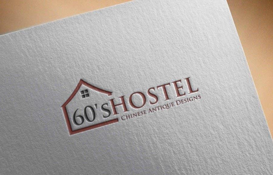 "Contest Entry #19 for Design a Logo for ""60's Hostel"""