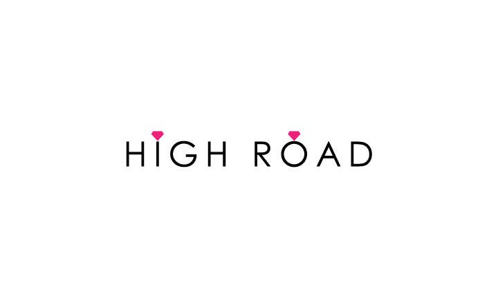 """Konkurrenceindlæg #74 for Logo for a luxe jewelry brand """"High Road"""""""