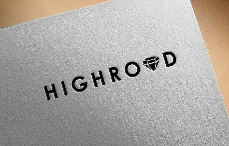 """Konkurrenceindlæg #110 for Logo for a luxe jewelry brand """"High Road"""""""