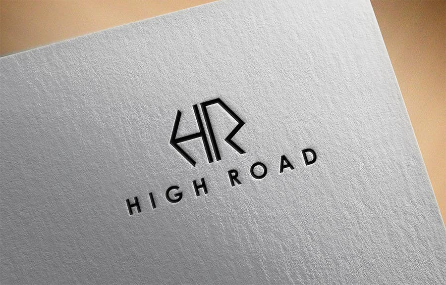 """Konkurrenceindlæg #140 for Logo for a luxe jewelry brand """"High Road"""""""