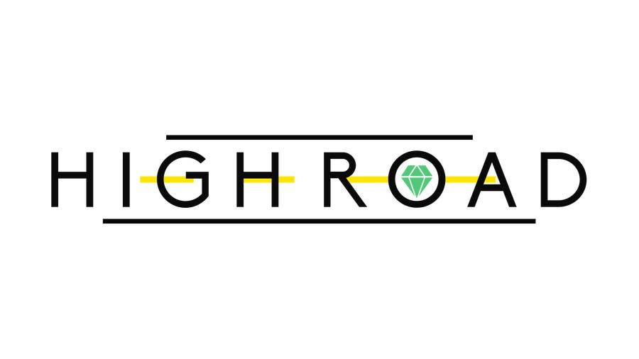 """Konkurrenceindlæg #83 for Logo for a luxe jewelry brand """"High Road"""""""