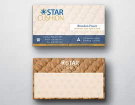 #85 para Design some Business Cards for Star Cushion por peerage