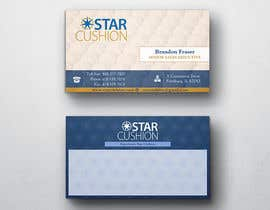 #87 untuk Design some Business Cards for Star Cushion oleh peerage