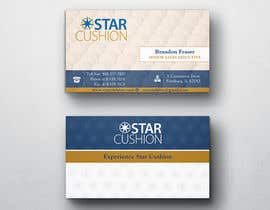 #124 untuk Design some Business Cards for Star Cushion oleh peerage